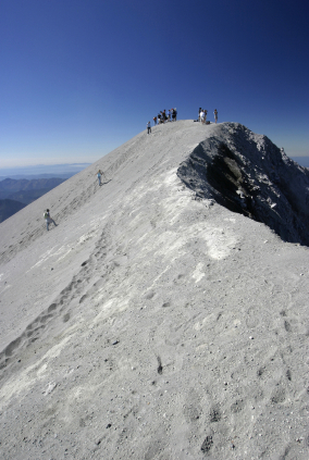 Single Mt St Helens Coaster