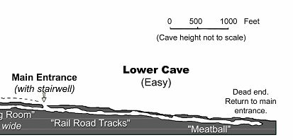 Lower Ape Cave Trail Map